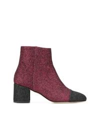 Paris Texas Glitter Ankle Boots