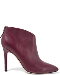 Halston Heritage Karen Leather Ankle Boots