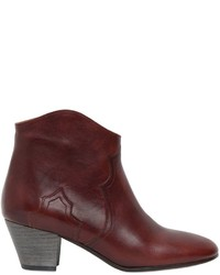 Isabel Marant Etoile 50mm Dicker Leather Ankle Boots
