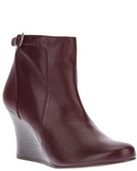 Lanvin Wedge Booties