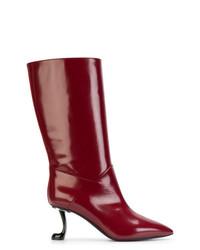Sculptural calf boots medium 7304104