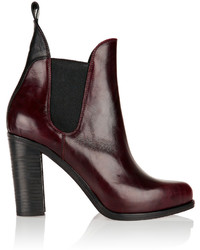 Rag & Bone Stanton Polished Leather Ankle Boots