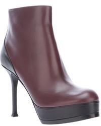 Saint Laurent Tribute Two Platform Ankle Boot