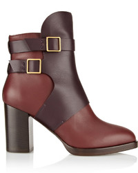 Tod's Two Tone Leather Ankle Boots