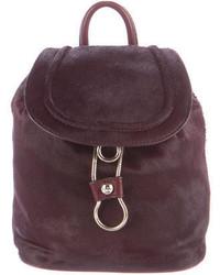 Diane von Furstenberg Love Power Calfhair Backpack W Tags
