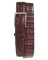 Torino Caiman Leather Belt
