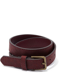 Forever 21 Classic Faux Leather Belt