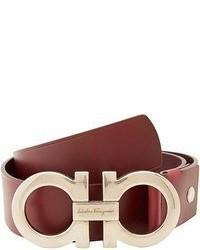 Salvatore Ferragamo Double Gancini Adjustable Belt 679068 Belts