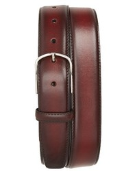 Hand buffed calfskin belt medium 3943194