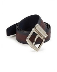 Burberry James Bicolored Leather Belt