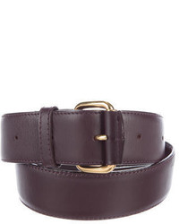 Marc Jacobs Leather Buckle Belt