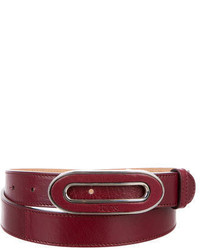 Tod's Leather Skinny Belt