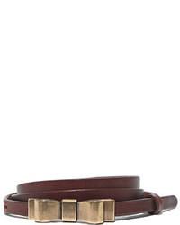 Madewell Skinny Metalbow Belt