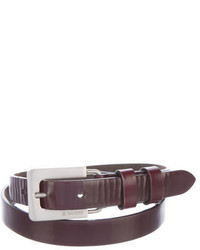 Jil Sander Narrow Leather Belt