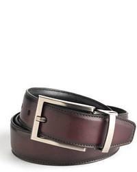 Black Brown 1826 Reversible Leather Belt