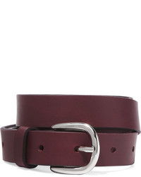 Etoile Isabel Marant Toile Isabel Marant Zap Leather Belt Burgundy