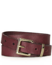 Topshop Cracked Clean Western Belt
