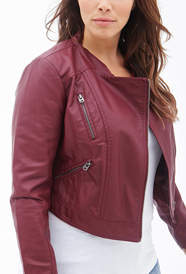 where can i buy drop shipping where can i buy $24, Forever 21 Faux Leather Moto Jacket