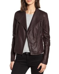 Andrew Marc Marc New York By Felix Stand Collar Leather Jacket