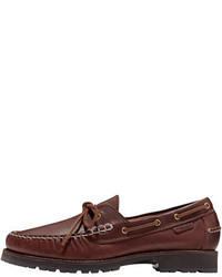Cole Haan Connery Leather Boat Shoe Barley