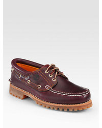Timberland Heritage Three  Eye Classic Lug Boat Shoes