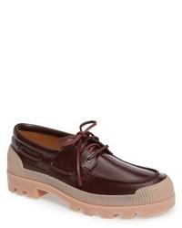 Acne Studios Platform Lug Boat Shoe