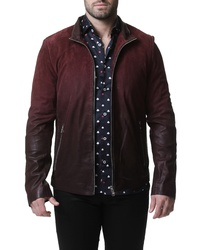 Maceoo Degrade Leather Jacket