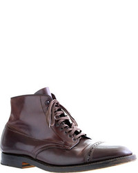 Alden cap toe cordovan boots medium 288717