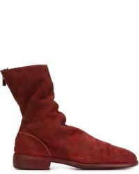 Back zip boots medium 604415