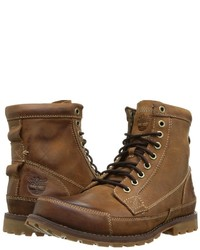 ... Timberland Earthkeepers Rugged Original Leather 6 Boot Lace Up Boots ...