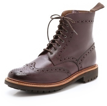 Grenson Fred C Boots With Commando Sole
