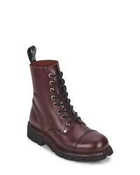 New Rock Granna Burgundy Mid Boots