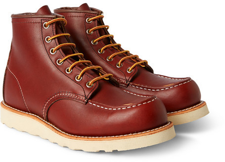 Red Wing Shoes Rubber Soled Leather Boots | Where to buy & how to wear