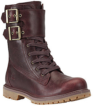 Excellent  About Timberland Savin Hill Buckle Leather Military Amp Combat Boots