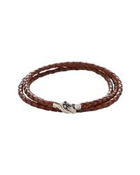 Degs & Sal Leather Wrap Bracelet