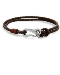 Ted Baker London Twirl Braided Leather Bracelet