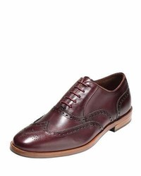 Hamilton grand wing tip oxford cordovan medium 833790