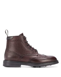 Canali Lace Up Ankle Boots