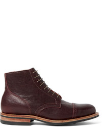 Viberg Service Leather Brogue Boots