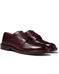 Brunello Cucinelli Polished Leather Longwing Brogues
