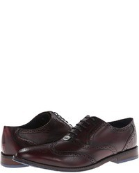 Hush Puppies Style Brogue Lace Up Wing Tip Shoes