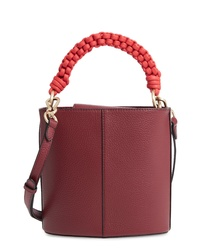 Vince Camuto Zane Leather Bucket Bag