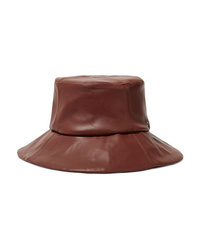 CLYDE Leather Bucket Hat