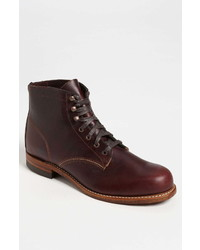 Wolverine 1000 Mile Plain Toe Boot