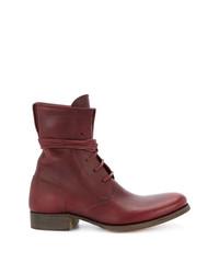 C Diem 5 Hole Lace Up Boots