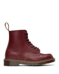 Dr. Martens Burgundy Vintage 1460 Lace Up Boots