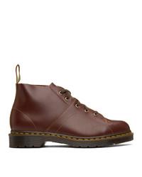 Dr. Martens Burgundy Vintage Church Boots