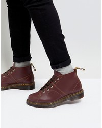 Dr. Martens Church Lace Up Boots In Oxblood