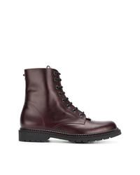 Valentino Garavani Lace Up Boots