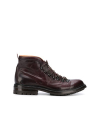 Officine Creative Lace Up Ankle Boots